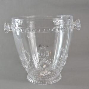 Secchiello champagne trasparente in resina nome ebrcha.bar08 casa produttrice baci milano collezione primavera estate 2019