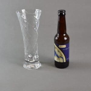Bicchiere+birra. stbee.che02 set 1 bicchiere+birra artigianale 33ml.etichetta blu.