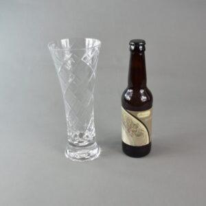 Bicchiere+birra. stbee.che03 set 1 bicchiere+birra artigianale 33ml.etichetta tortora.