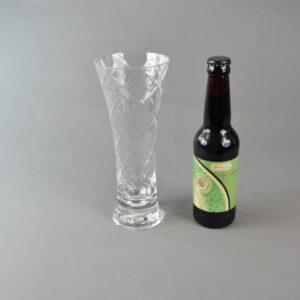 Bicchiere+birra. stbee.che04 set 1 bicchiere+birra artigianale 33ml.etichetta verde.