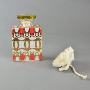 Bottiglia diffusore profumo 375 ml con fiore alanis