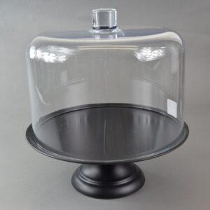Alzata colore nero articolo mb10-21b cm.29,6 produzione baci milano.