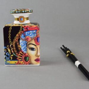 Bottiglia diffusore profumo 375 ml con bastoncini