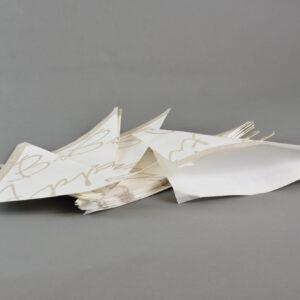 Coni porta patatine rgm299530 coni bon appetito in carta colore bianco cm.20x19x20.