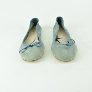 Ballerina n.41 velluto azzurro