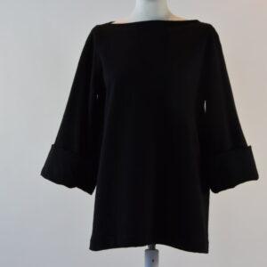 Camicia felpa colore nero