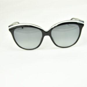 Occhiali da sole Italia Independent cat-eye nero glossy modello Camilla 0863